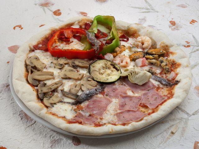 pizza 4 estaciones
